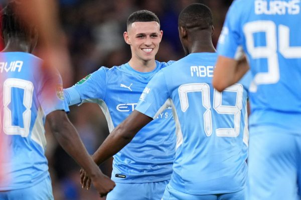 Personal stats for Phil Foden vs Wycombe