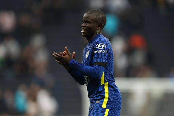 Kante reveals his physical condition is getting better